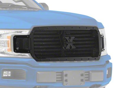 T-REX Stealth X-Metal Series Upper Replacement Grille - Black (18-19 F-150, Excluding Raptor)