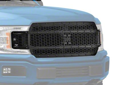 T-REX Stealth Laser X-Metal Series Upper Replacement Grille - Black (18-19 F-150, Excluding Raptor)