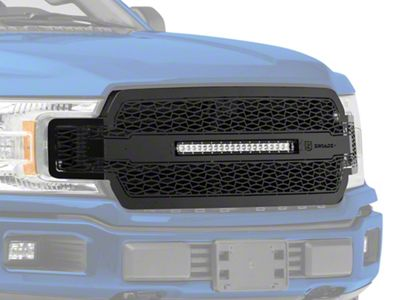 ZRoadz Upper Replacement Grille w/ 20 in. LED Light Bar - Black (18-19 F-150, Excluding Raptor)