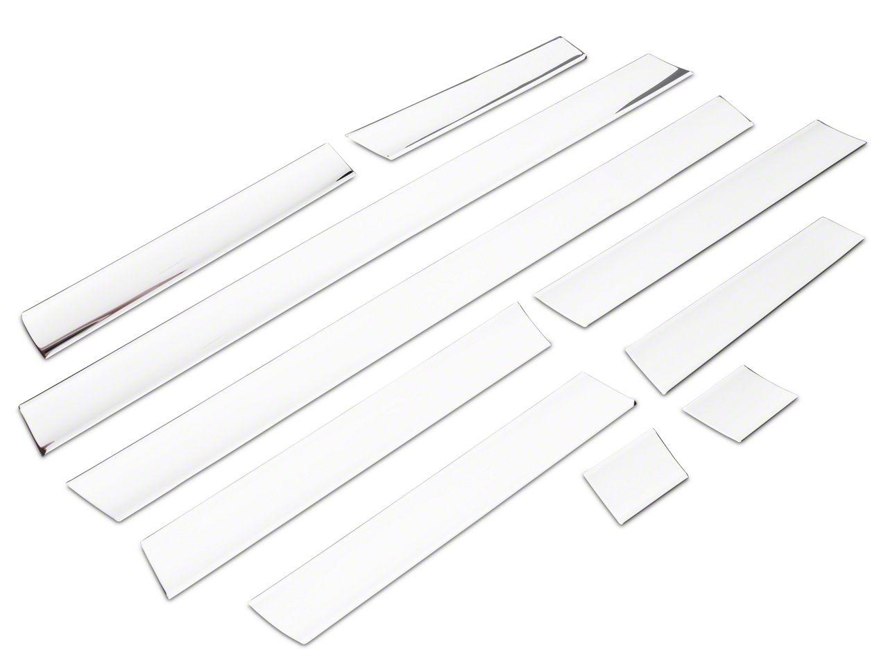 Rocker Panel Covers - Polished (04-08 F-150 Styleside)