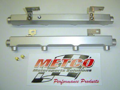 Metco Motorsports High Flow Fuel Rail Kit (99-03 F-150 Lightning; 02-03 F-150 Harley Davidson)