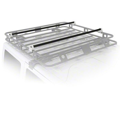 Smittybilt Defender Roof Rack Crossbar Bracket Kit (97-19 F-150)