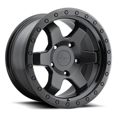 Rotiform Six Matte Black 6-Lug Wheel - 17x9 (04-19 F-150)