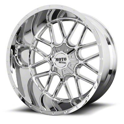 Moto Metal MO986 Siege Chrome 6-Lug Wheel - 24x14 (04-19 F-150)