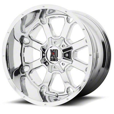 XD Buck 25 Chrome 6-Lug Wheel - 20x12 (04-19 F-150)