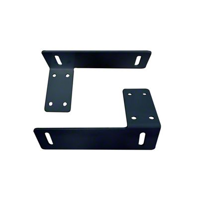 Westin Headache Rack Tool Box Bracket - Black (04-19 F-150)