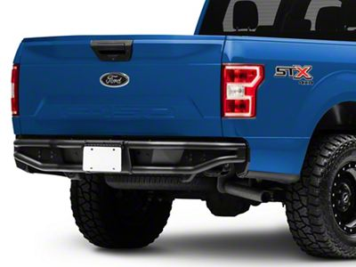 Westin Outlaw Rear Bumper - Textured Black (15-19 F-150, Excluding Raptor)