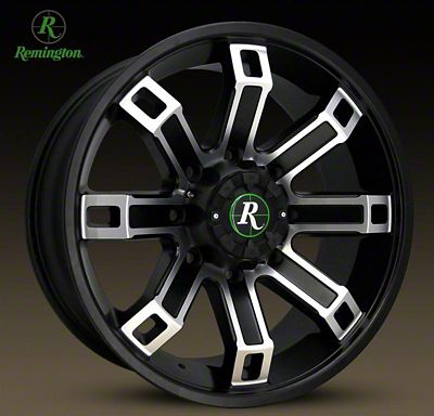 Remington Off-Road Hollow Point Satin Black Machined 6-Lug Wheel - 18x9 (04-19 F-150)