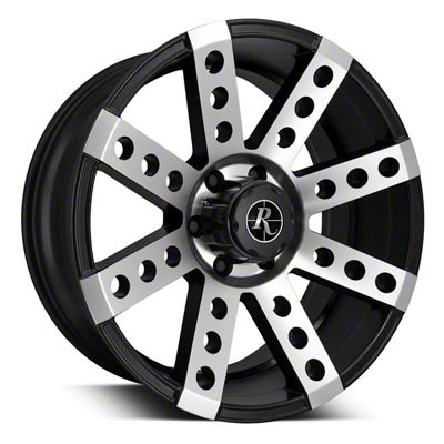 Remington Off-Road Buckshot Satin Black Machined 6-Lug Wheel - 20x9 (04-19 F-150)