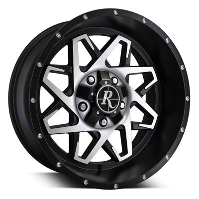 Remington Off-Road Caliber Satin Black Machined 6-Lug Wheel - 20x10 (04-19 F-150)