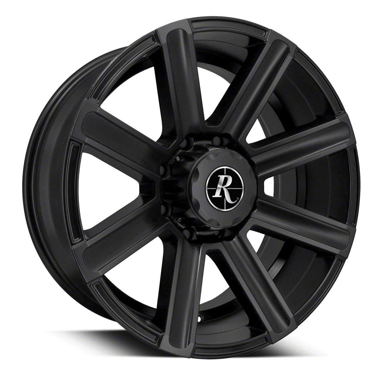 Remington Off-Road Freedom All Satin Black 6-Lug Wheel - 20x9 (04-19 F-150)