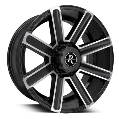 Remington Off-Road Freedom Satin Black Machined 6-Lug Wheel - 20x9 (04-19 F-150)