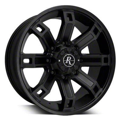 Remington Off-Road Hollow Point All Satin Black 6-Lug Wheel - 20x9 (04-19 F-150)