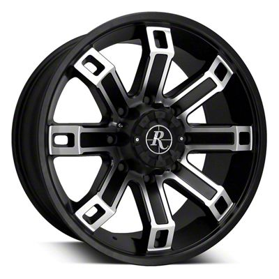 Remington Off-Road Hollow Point Satin Black Machined 6-Lug Wheel - 20x9 (04-19 F-150)