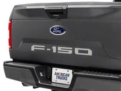 Silver Tailgate Insert Letters (18-19 F-150)