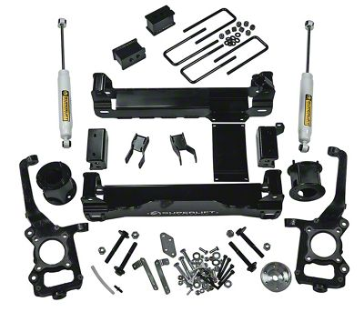 SuperLift 4.5 in. Suspension Lift Kit w/ Superide Shocks (09-14 4WD F-150, Excluding Raptor)