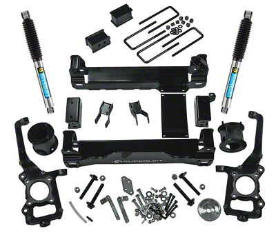 SuperLift 4.5 in. Suspension Lift Kit w/ Bilstein Shocks (09-14 4WD F-150, Excluding Raptor)