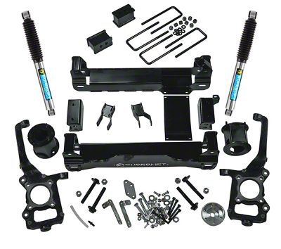 SuperLift 6 in. Suspension Lift Kit w/ Bilstein Shocks (09-14 4WD F-150, Excluding Raptor)