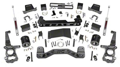 Rough Country 6 in. Suspension Lift Kit w/ Lifted N3 Struts (15-19 4WD F-150, Excluding Raptor)
