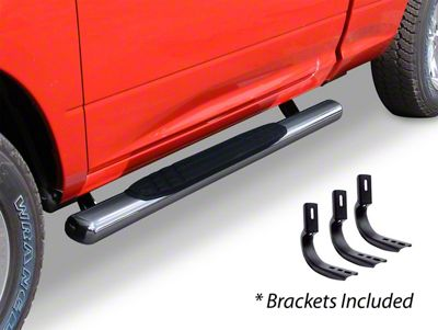 Go Rhino 4 in. OE Xtreme Side Step Bars - Stainless Steel (04-14 F-150 Regular Cab)