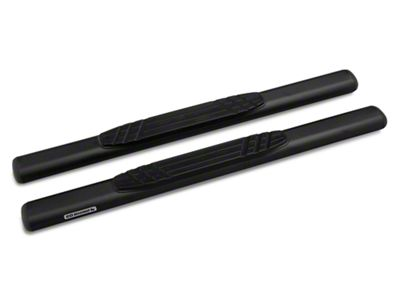 Go Rhino 4 in. OE Xtreme Side Step Bars - Textured Black (04-14 F-150 Regular Cab)