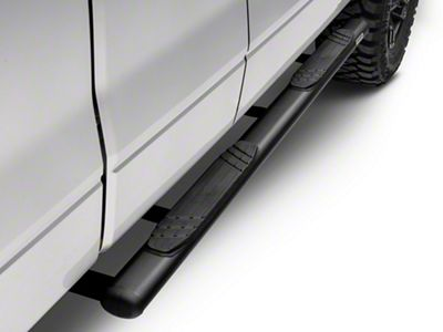 Go Rhino 4 in. OE Xtreme Side Step Bars - Textured Black (04-14 F-150 SuperCab)