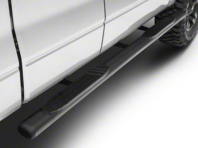 Go Rhino 4 in. OE Xtreme Side Step Bars - Textured Black (04-14 F-150 SuperCrew)