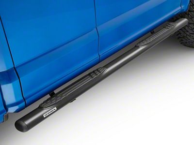 Go Rhino 4 in. OE Xtreme Side Step Bars - Textured Black (15-19 F-150 SuperCab)