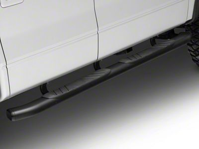 Go Rhino 5 in. OE Xtreme Composite Side Step Bars - Black (04-14 F-150 SuperCrew)