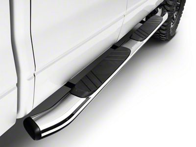 Go Rhino 5 in. OE Xtreme Composite Side Step Bars - Chrome (04-14 F-150 SuperCrew)
