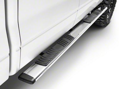 Go Rhino 5 in. OE Xtreme Low Profile Side Step Bars - Stainless Steel (04-14 F-150 SuperCrew)