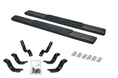 Go Rhino 5 in. OE Xtreme Low Profile Side Step Bars - Textured Black (04-14 F-150 SuperCab)