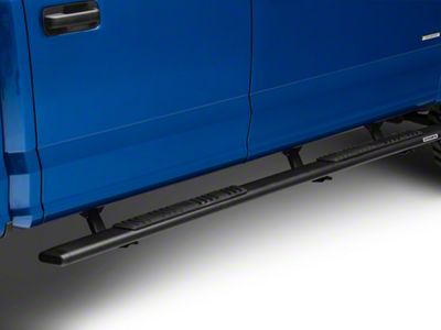 Go Rhino 5 in. OE Xtreme Low Profile Side Step Bars - Textured Black (15-19 F-150 SuperCrew)