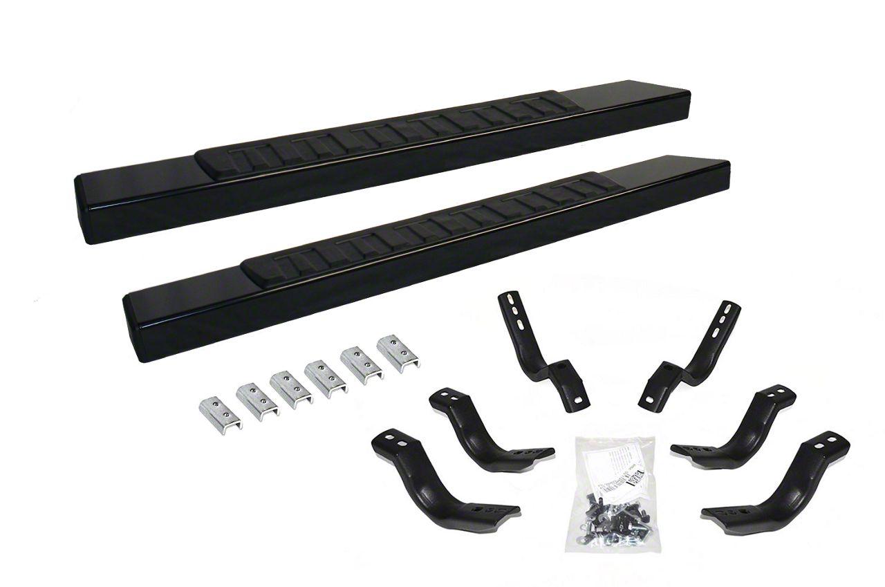 Go Rhino 6 in. OE Xtreme II Side Step Bars - Textured Black (04-14 F-150 Regular Cab)