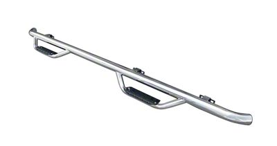 Go Rhino Dominator D2 Cab Length Side Step Bars - Stainless Steel (15-19 F-150 SuperCrew)