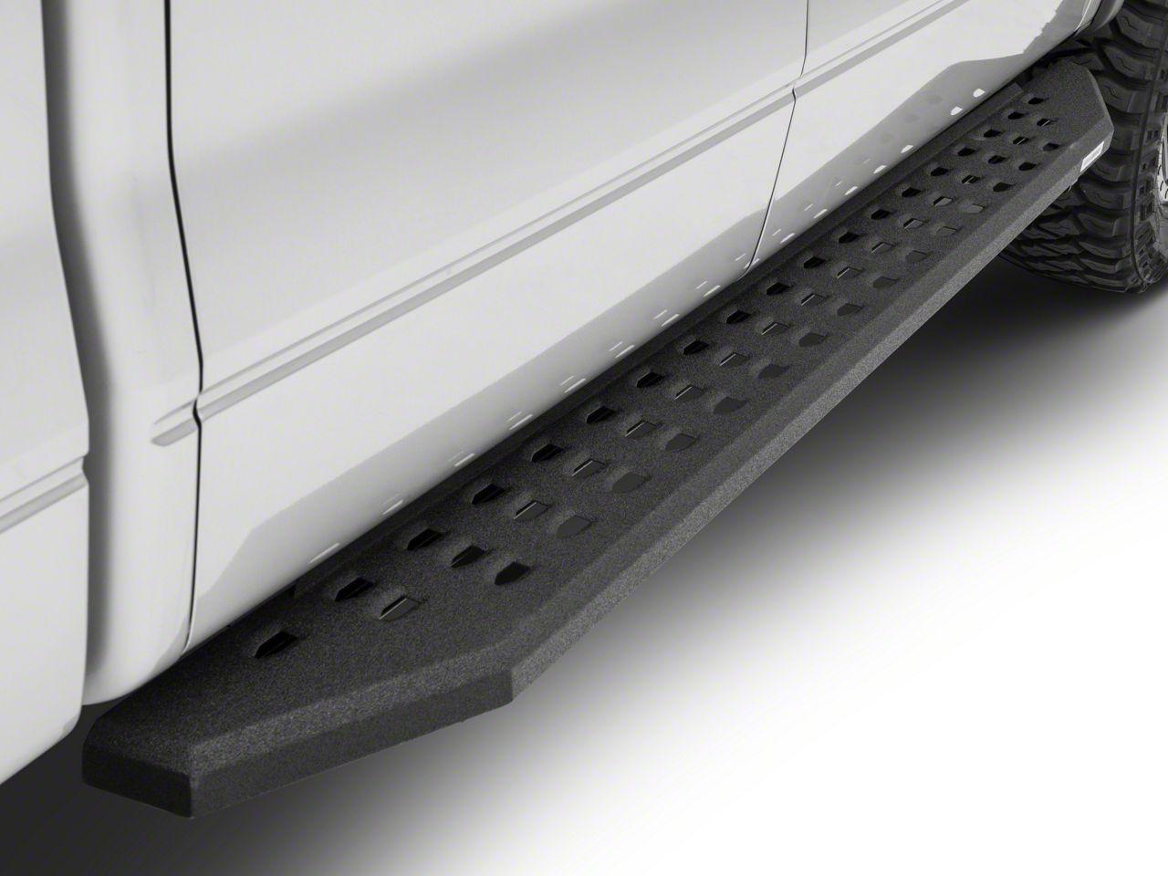 Go Rhino RB20 Running Boards - Black Bedliner Coating (04-14 F-150 SuperCrew)