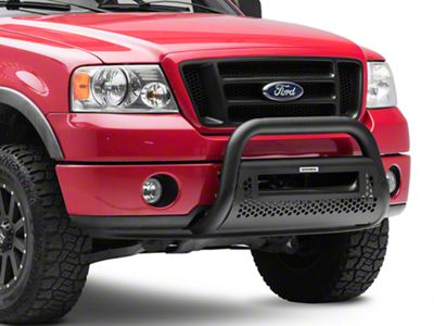 Go Rhino RC2 LR Bull Bar w/ 20 in. LED Light Bar Mounting Brackets - Textured Black (04-08 F-150)