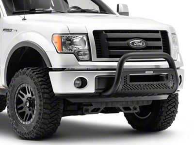 Go Rhino RC2 LR Bull Bar w/ 20 in. LED Light Bar Mounting Brackets - Textured Black (09-19 F-150, Excluding Raptor)