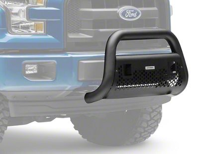 Go Rhino RC2 LR Bull Bar w/ Two LED Cube Light Mounting Brackets - Textured Black (09-19 F-150, Excluding Raptor)
