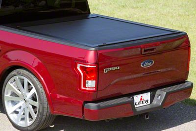 Pace Edwards JackRabbit Retractable Bed Cover (15-18 F-150 w/ 6.5 ft. & 8 ft. Bed)
