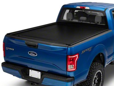 Pace Edwards JackRabbit Retractable Bed Cover w/ Explorer Rails (15-19 F-150 w/ 6.5 ft. & 8 ft. Bed)