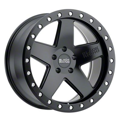 Black Rhino Crawler Matte Black 6-Lug Wheel - 17x8.5 (04-19 F-150)