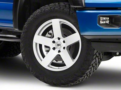 Black Rhino Everest Silver 6-Lug Wheel - 20x9 (04-19 F-150)