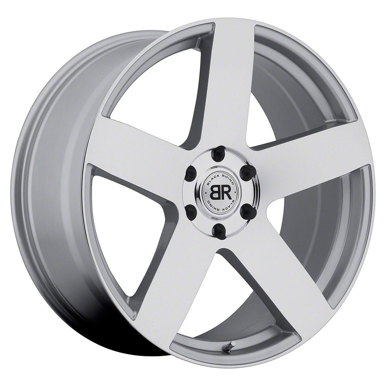 Black Rhino Everest Silver 6-Lug Wheel - 24x10 (04-19 F-150)