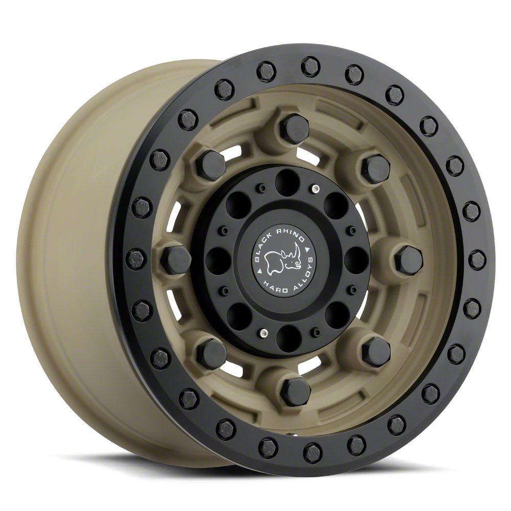 Black Rhino Garrison Desert w/Matte Black 6-Lug Wheel - 17x8.5 (04-19 F-150)