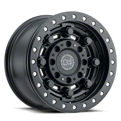 Black Rhino Garrison Matte Black 6-Lug Wheel - 17x8.5 (04-19 F-150)