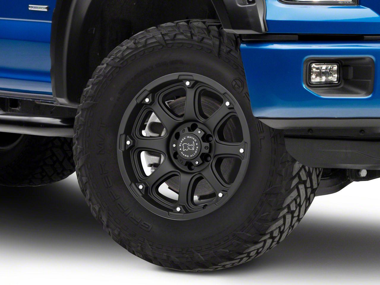 Black Rhino Glamis Matte Black 6-Lug Wheel - 18x9 (04-19 F-150)