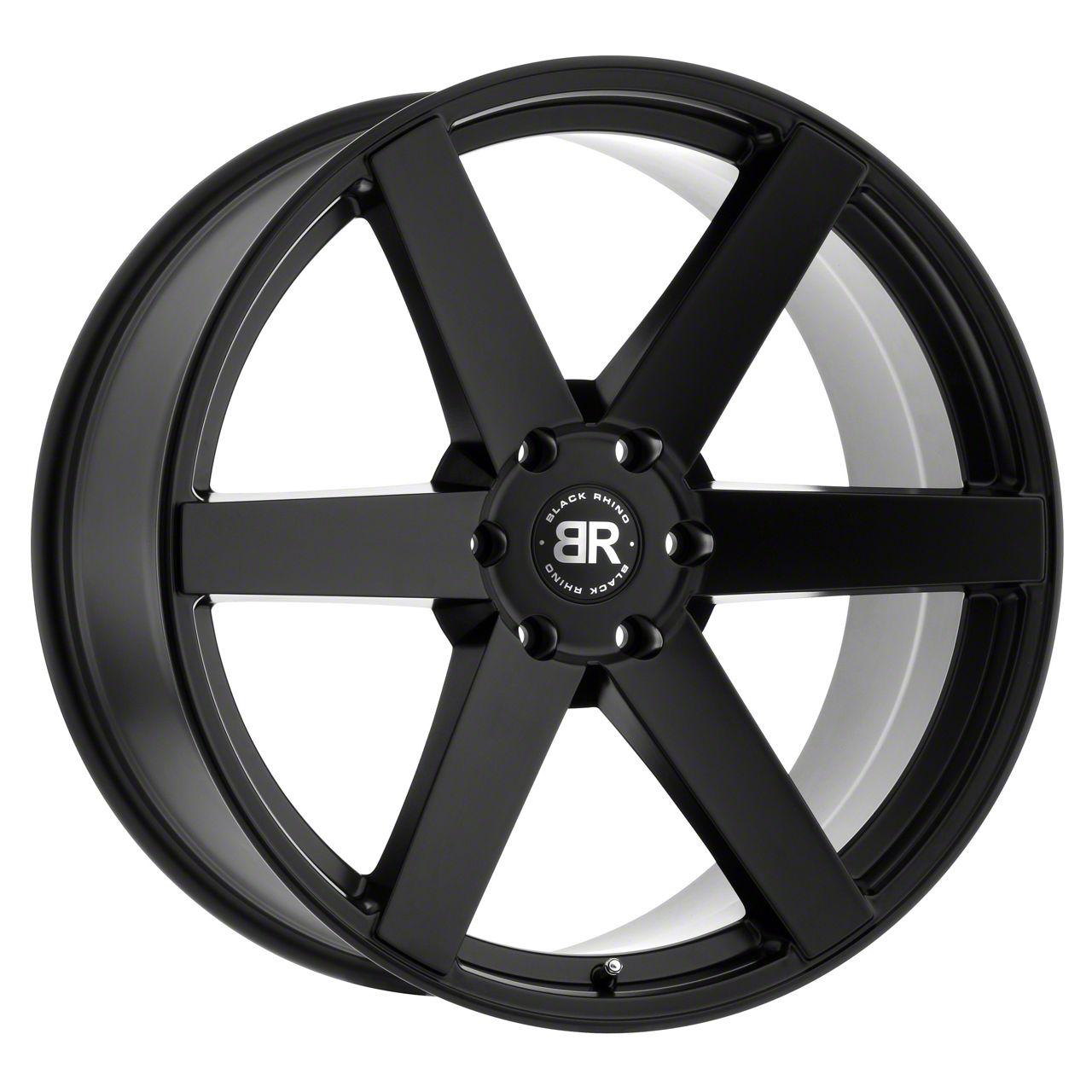 Black Rhino Karoo Matte Black 6-Lug Wheel - 24x10 (04-19 F-150)