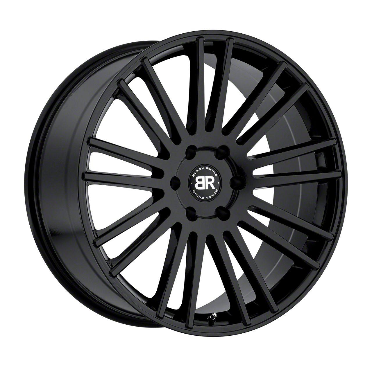 Black Rhino Kruger Gloss Black 6-Lug Wheel - 20x9 (04-19 F-150)