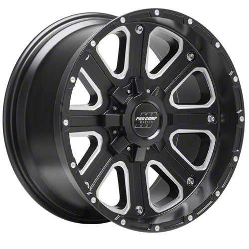 Pro Comp Axis Satin Black 6-Lug Wheel - 17x9 (04-19 F-150)